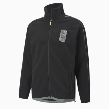 PUMA x HELLY HANSEN Men's Polar Fleece Top, Puma Black, small