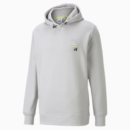 PUMA x HELLY HANSEN hoodie, Glacier Gray, small