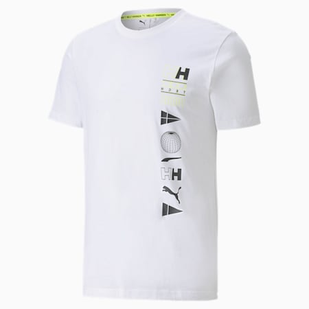 T-Shirt PUMA x HELLY HANSEN, Puma White, small