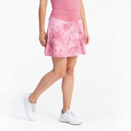 PWRSHAPE Tie Dye Women's Golf Skirt, Rose Wine, small