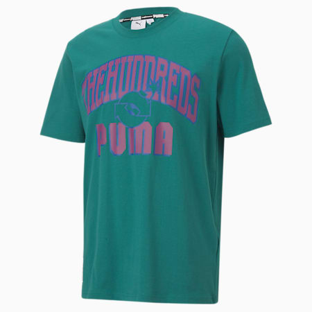 PUMA x THE HUNDREDS Men's Crew Neck T-Shirt, Ivy, small-IND