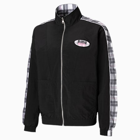 PUMA x VON DUTCH Reversible Men's Track Jacket, Puma Black, small
