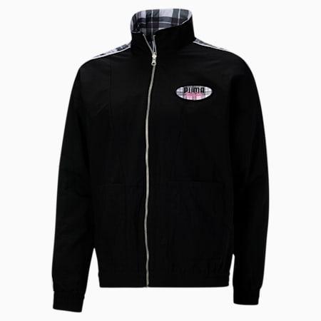 PUMA x VON DUTCH Reversible Track Jacket, Puma Black, small