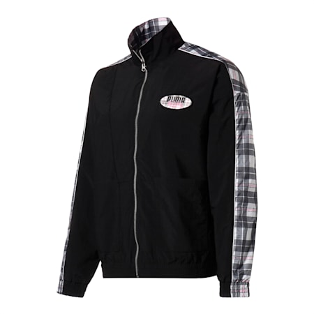 PUMA x VON DUTCH Reversible Men's Track Jacket, Puma Black, small-SEA