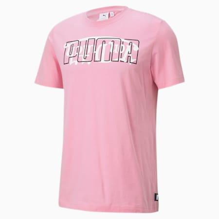 PUMA x VON DUTCH T-shirt voor heren, PRISM PINK, small
