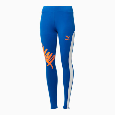 NYC Women's T7 Leggings 2.0, Nautical Blue, small
