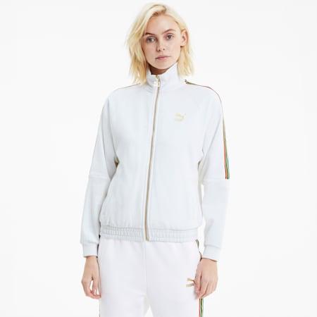 TFS Women's Track Jacket, Puma White, small