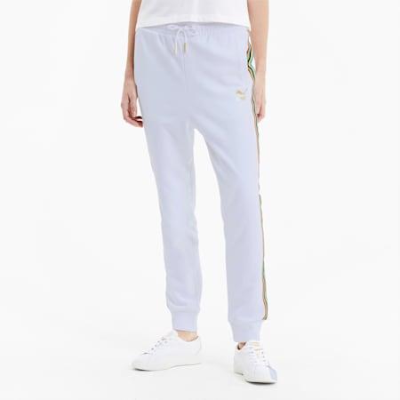 Pantalon de survêtement TFS pour femme, Puma White, small