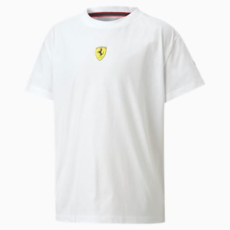 Scuderia Ferrari Race Kids' Street Tee, Puma White, small
