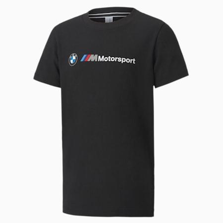 T-shirt à logo BMW M Motorsport, enfant, Puma Black, petit