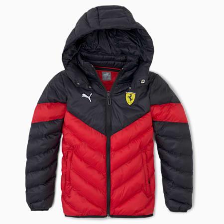 Scuderia Ferrari Race Kids' MCS Eco Jacket, Rosso Corsa, small