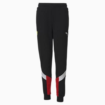 Scuderia Ferrari Race MCS Youth Sweatpants, Puma Black, small-SEA