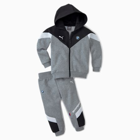 BMW M Motorsport Babies' Jog Suit, Puma Black, small
