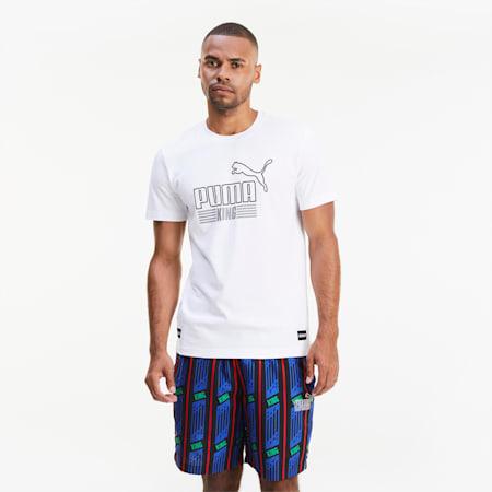 KING Herren T-Shirt, Puma White, small