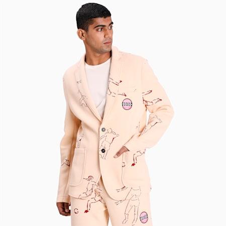 PUMA x KIDSUPER Men's Tailored Jacket, Honey Peach, small-IND