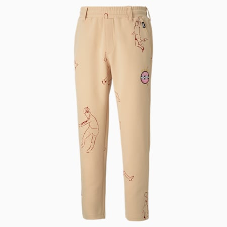 PUMA x KIDSUPER Tailored broek voor heren, Honey Peach, small