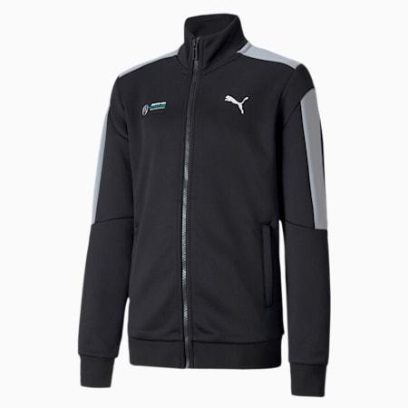 Mercedes T7 Youth Track Jacket, Puma Black, small