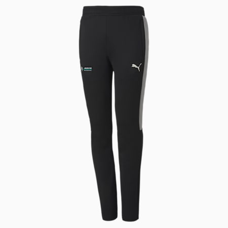 Mercedes T7 Youth Track Pants, Puma Black, small