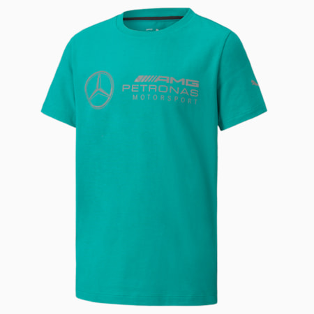 MAPM Logo T-shirt Kids, Spectra Green, small-IND