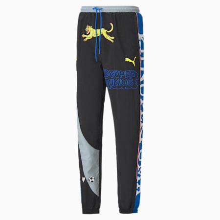 PUMA x KIDSUPER Men's Track Pants, Puma Black, small-SEA