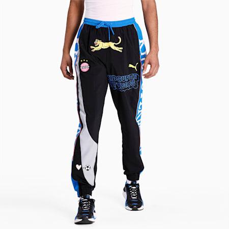 PUMA x KIDSUPER Men's Track Pants, Puma Black, small-IND