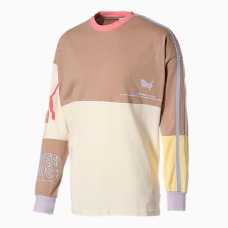 PUMA x KIDSUPER STUDIOS 長袖 Tシャツ, Whisper White, small-JPN