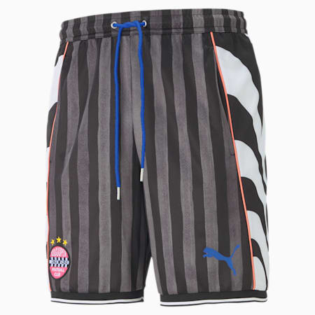 PUMA x KIDSUPER STUDIOS Men's Shorts, Puma Black-AOP, small