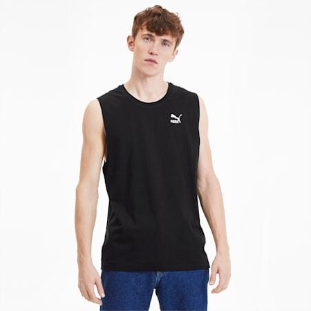 Camiseta para hombre Classics Sleeveless, Cotton Black, small