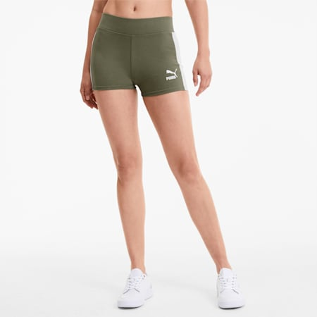 Classics Damen Micro-Shorts, Deep Lichen Green, small