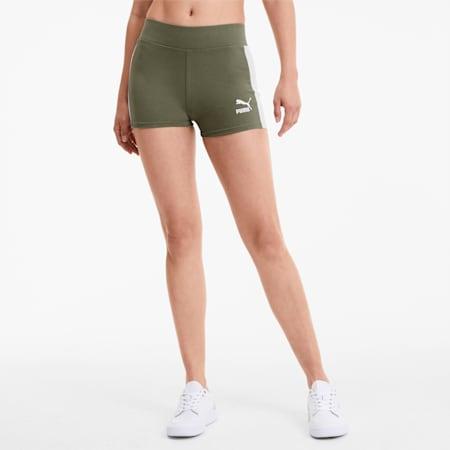 Classics Women's Micro Shorts, Deep Lichen Green, small