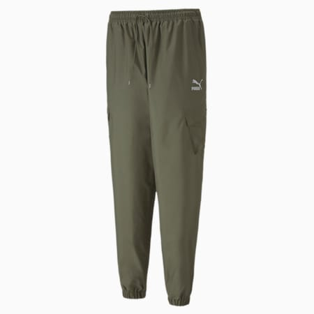 Classics Utility Woven Women's Pants, Deep Lichen Green, small-SEA