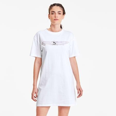 Vestido de mujer Tie Dye, Puma White, small