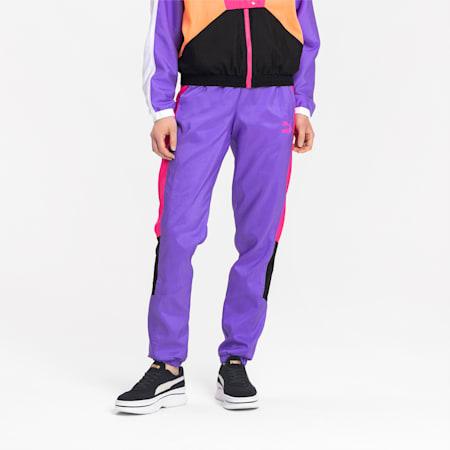 Tailored for Sport OG Retro geweven damesbroek, Luminous Purple, small
