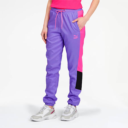 Pantalones Retro Tailored for Sport OG para mujer, Luminous Purple, pequeño