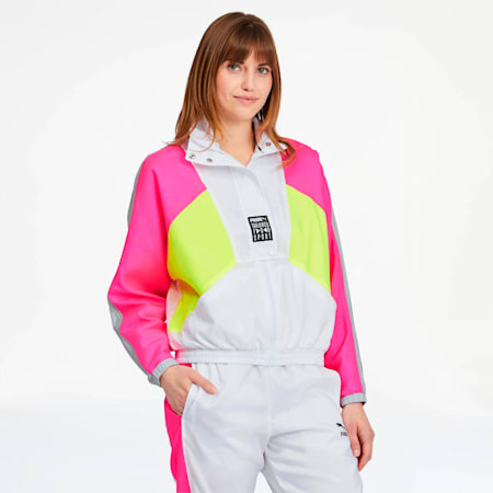 Tailored for Sport OG Women's Retro Track Jacket, Puma White, small
