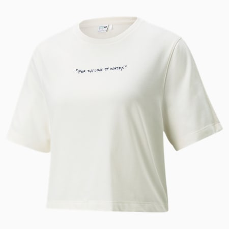 PUMA x CENTRAL SAINT MARTINS T-shirt voor dames, Puma White, small