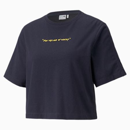 PUMA x CENTRAL SAINT MARTINS Damen T-Shirt, Peacoat, small