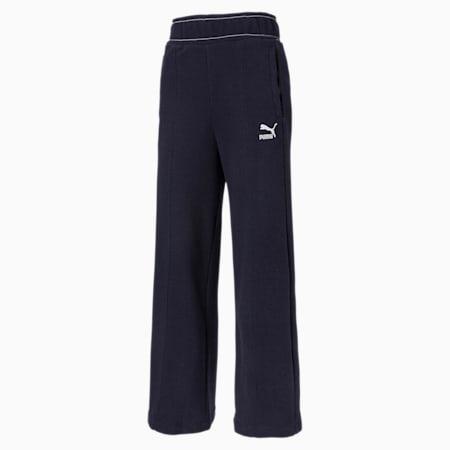 Pantaloni PUMA x CENTRAL SAINT MARTINS a vita alta da donna, Peacoat, small