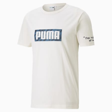 PUMA x CENTRAL SAINT MARTINS Graphic Tee, Puma White, small-SEA