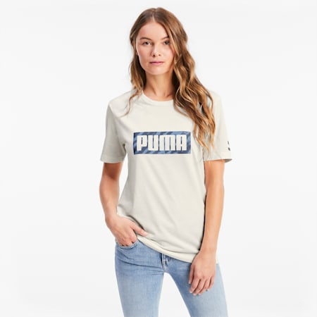 PUMA x CENTRAL SAINT MARTINS Graphic T-Shirt, Puma White, small