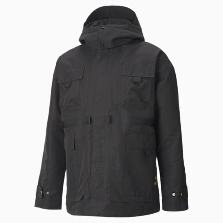 PUMA x CENTRAL SAINT MARTINS Mid Length Jacket, Puma Black, small