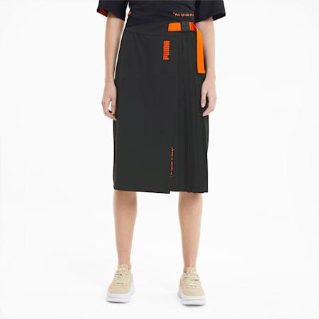PUMA x CENTRAL SAINT MARTINS Women's Skirt, Puma Black, small