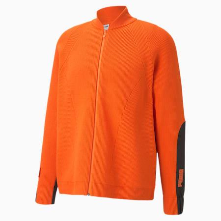 PUMA x CENTRAL SAINT MARTINS evoKNIT Men's Sweater, Dragon Fire, small-IND