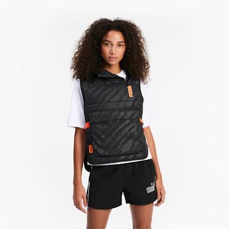 Wyściełana bluza z kapturem PUMA x CENTRAL SAINT MARTINS bez rękawów, Puma Black, small