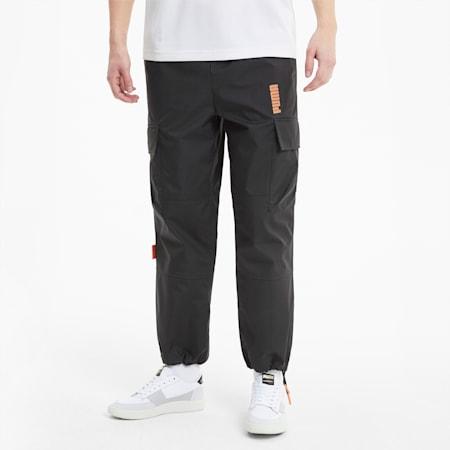 Pantalones cargo PUMA x CENTRAL SAINT MARTINS Woven para hombre, Puma Black, small