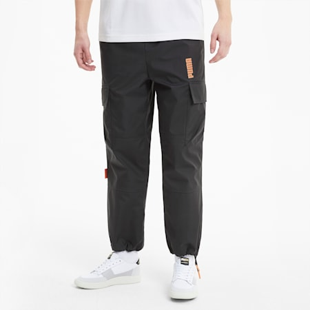 PUMA x CENTRAL SAINT MARTINS Men's Woven Pants, Puma Black, small