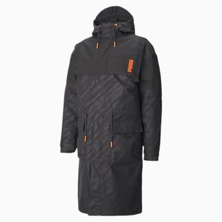 PUMA x CENTRAL SAINT MARTINS Hooded 2 in 1 Jacket, Puma Black, small-IND