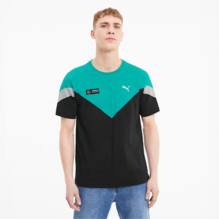 Mercedes MCS T-shirt voor heren, Puma Black, small