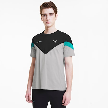 Mercedes MCS Men's Tee, Mercedes Team Silver, small