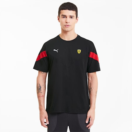 T-Shirt Scuderia Ferrari Race MCS pour homme, Puma Black, small